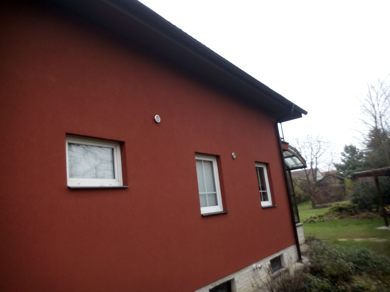 1 Oprava fasády Hovorčovice