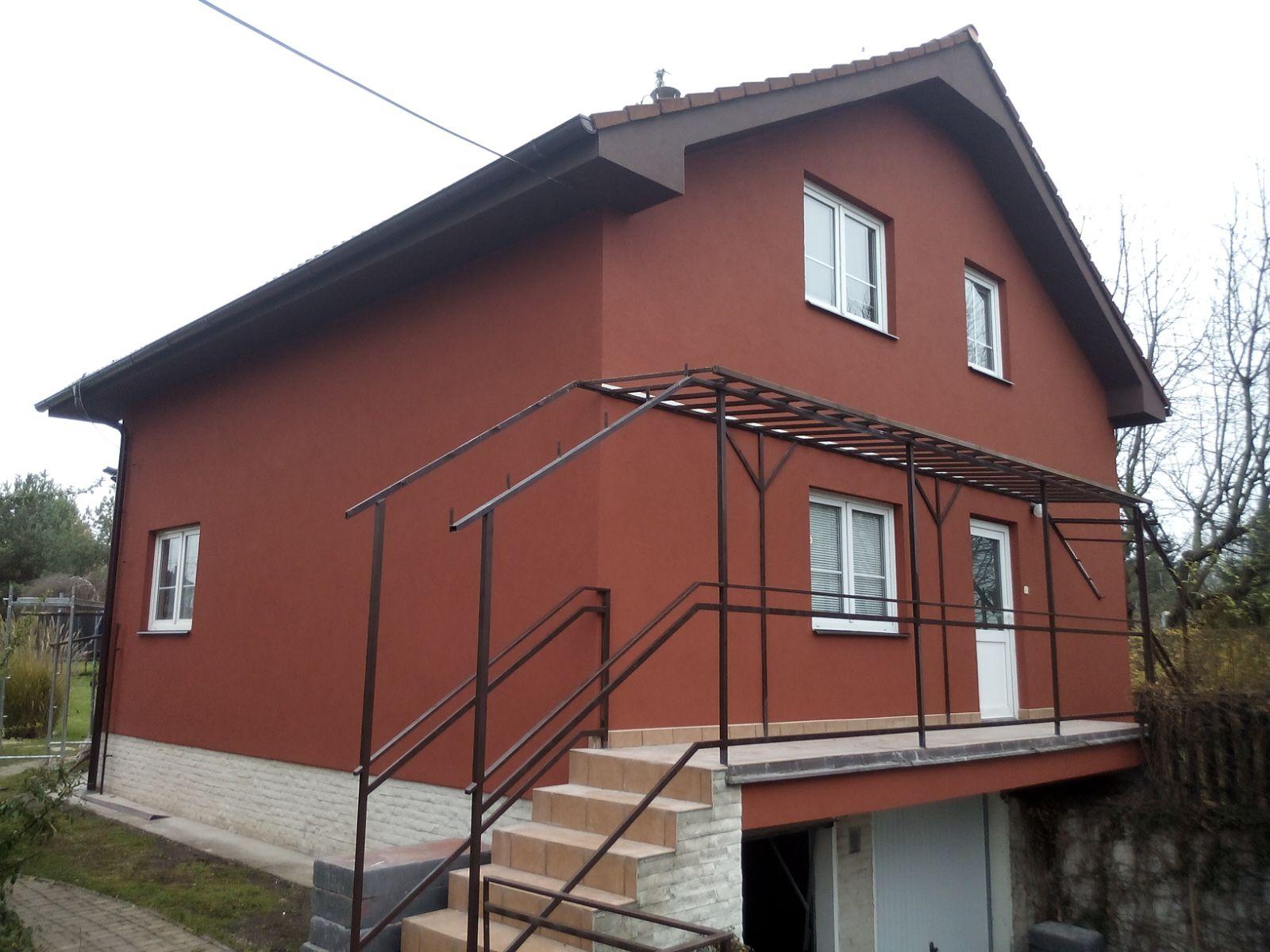 3 Oprava fasády Hovorčovice
