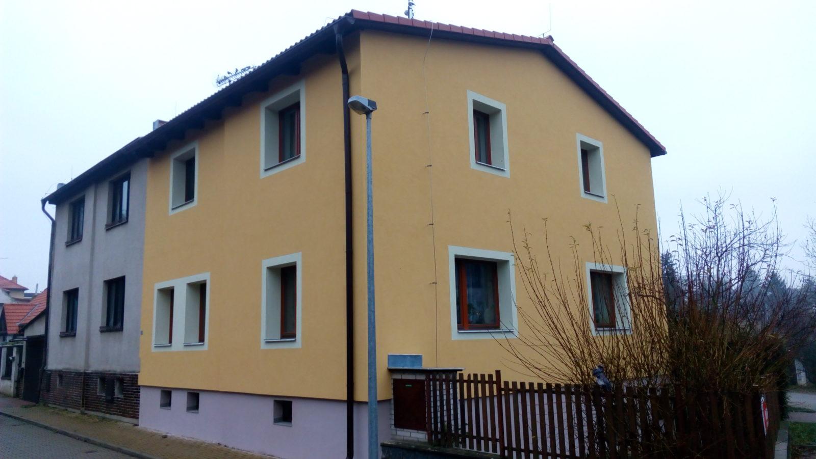 rekonstrukce domu 1 praha 6