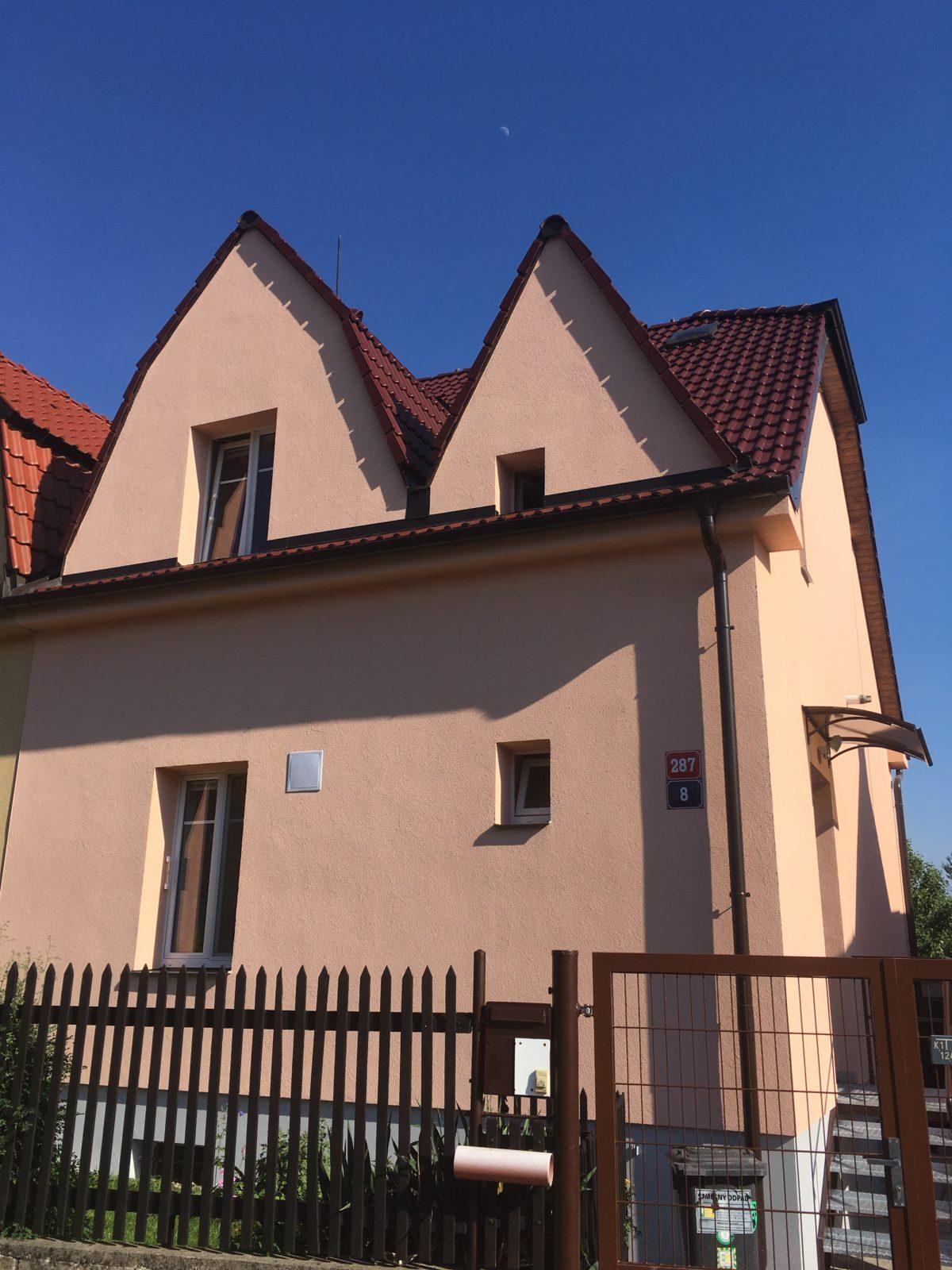 rekonstrukce domu Praha 4 Krč