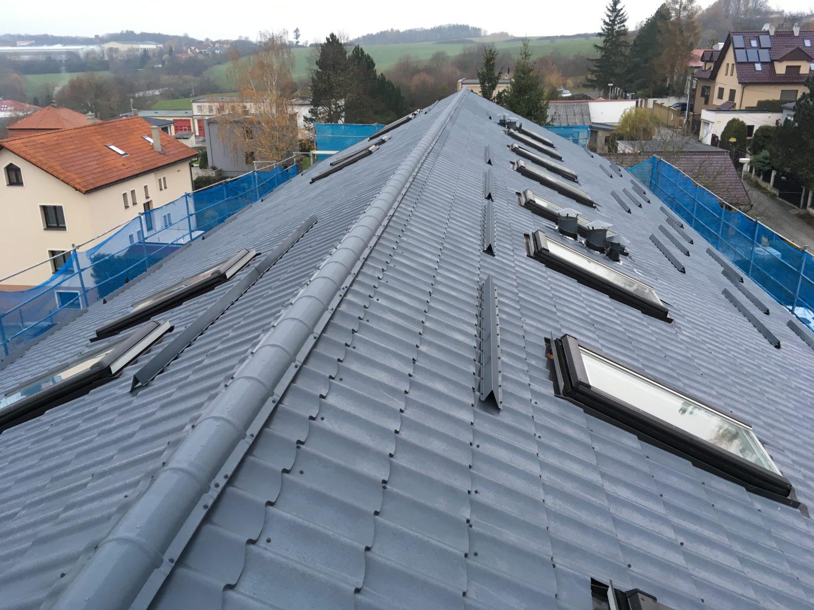 rekonstrukce a zateplení střechy 1 praha