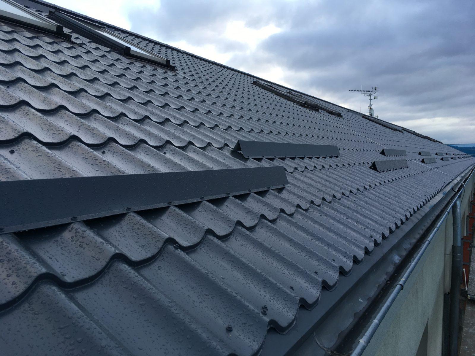 2 rekonstrukce a zateplení střechy praha