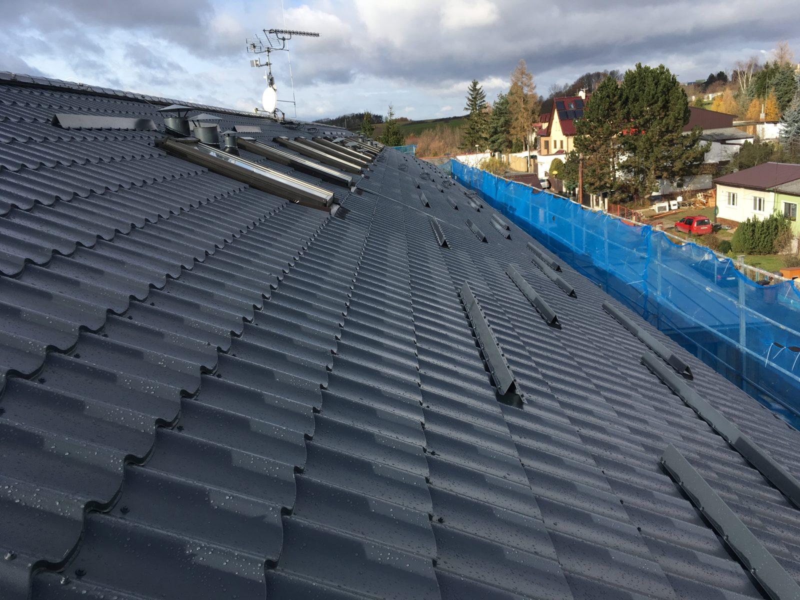 3 rekonstrukce a zateplení střechy praha